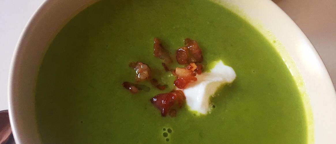 Bacon Pea Soup