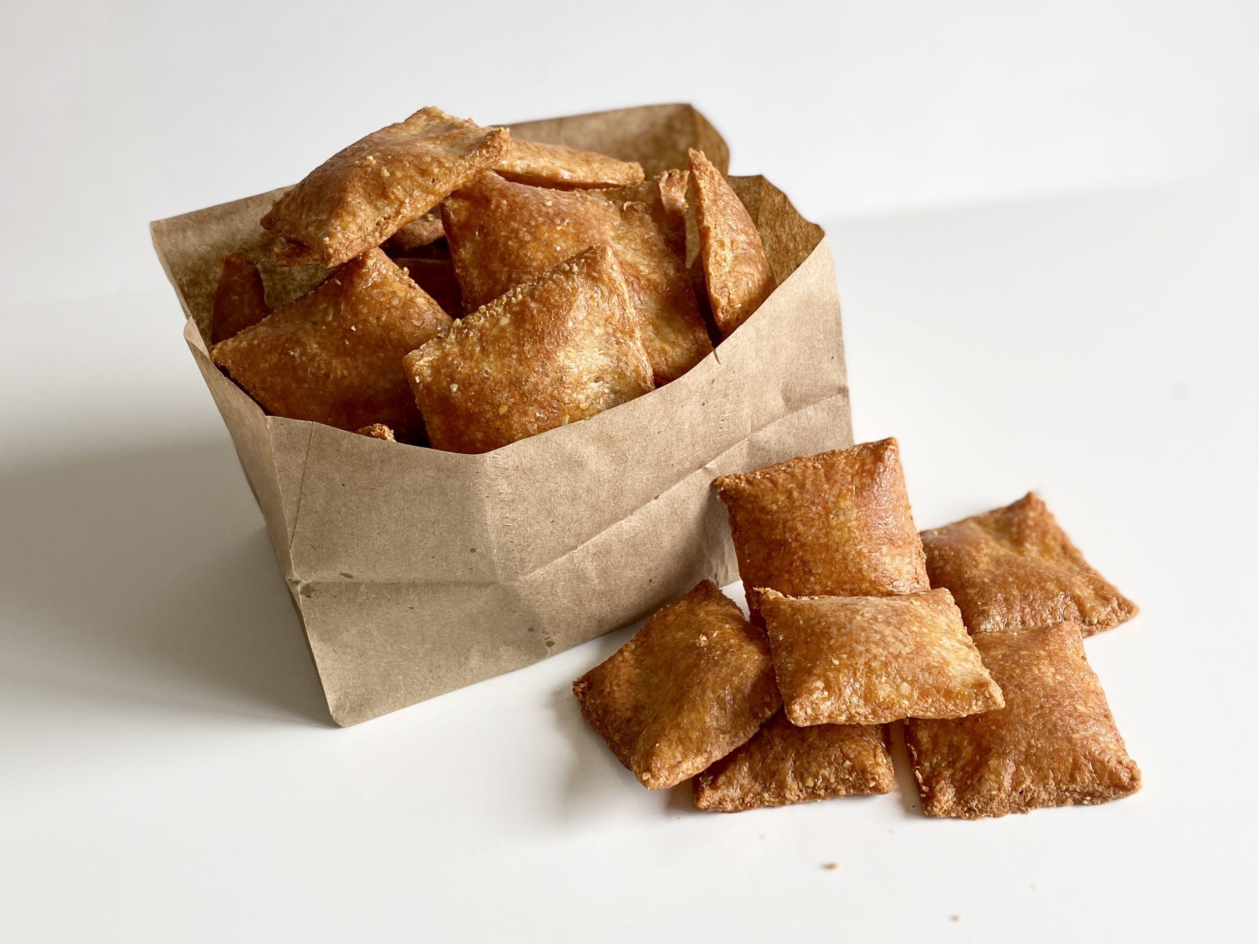 Keto Pita Chips