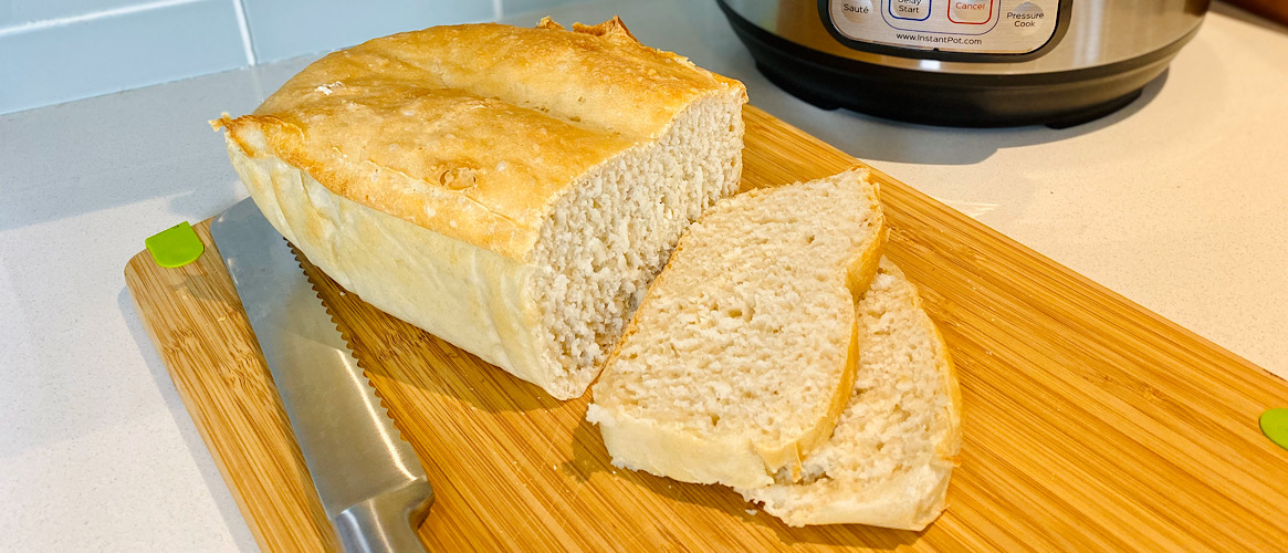 Proofed Bread in the Instant Pot (Baked in the Oven)